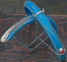 """Vintage Dayton Huffman Bicycle FENDERS 26"""" Braces Reflector Housing rack sp Bike"""