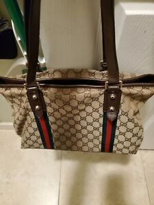 Gucci monogram large shoulder bag NO RETURNS