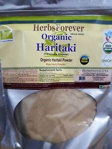 Haritaki Powder (Terminalia Chebula) (Digestion Care) 16 Oz, 454 Gms Herbsfoever