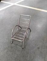 New chrome Metal Small Size Chair For Room/ /Kitchen / Dinning Table Decoration