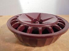 ART DÉCO 1930 Rare Cendrier Bakélite Bordeaux Moderniste Constructiviste