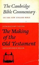 The Making of the Old Testament (Cambridge Bible Commentaries on the Old
