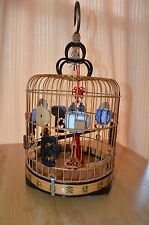 small bamboo bird cage