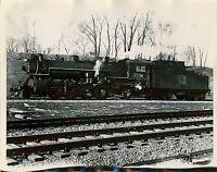 1956 Canadian National Locomotive Photo #3509 2-8-2 Bayview Hamilton Ontario