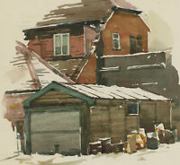 Clifford H. Thompson (1926-2017) - 20th Century Watercolour, Study of a House