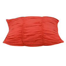 Emma Red Ruffled Cushion Cover 45 x 45