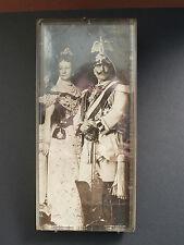 Foto Kaiser Wilhelm II. Garde du Corps Kaiserin Auguste Victoria im Standrahmen