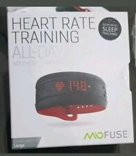 Mio FUSE - heart-rate and performance Size L - Crimson: Black/Red: 156-208mm