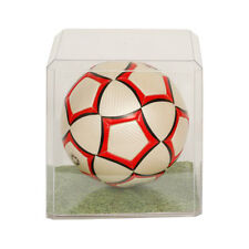 Soccer ball unsigned Clear Display Case