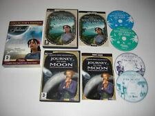 Jules Verne Collectors Edition viaje a la Luna + retorno Isla Misteriosa PC