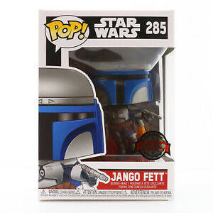 Funko POP! Star Wars - Jango Fett Special Edition Exclusive With Protector