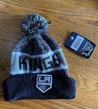 Los Angeles Kings Fanatics Nhl Pom Cuff Knit Hat Stocking Cap M