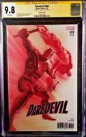 MARVEL Comics DAREDEVIL #600 CGC SS 9.8 Charlie Cox ELEKTRA PUNISHER KINGPIN