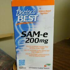 Doctors Best SAM-e 60 Tabs 200 mg FREE SHIPPING!!!!!!!!!!! K92