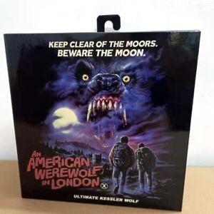 "NECA An American Werewolf In London Kessler Wolf 7"" Scale Figure Official New"
