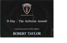 Robert Taylor - D-Day - The Airborn Assault - Aviation Art FLYER