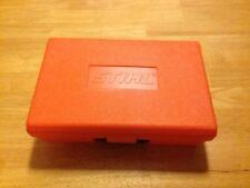 """STIHL CHAINSAW PLASTIC TOOL BOX APPROX. 12"""" X 8"""" X 4""""  Lot Of 2"""