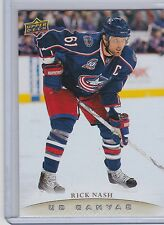 11-12 2011-12 UPPER DECK RICK NASH CANVAS  UD C29 BLUE JACKETS
