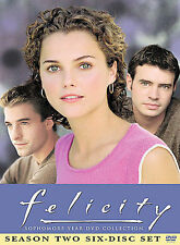 Felicity - Season 2 6 Disc Set Sophomore Year Collection. Very Good Used!!