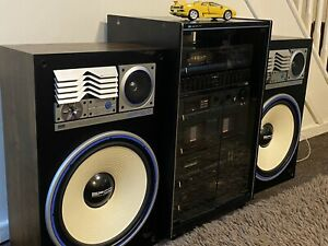 Sansui Hi Fi B-1000, C-1000 Full System with SP-Z7 Speakers Excellent Condition
