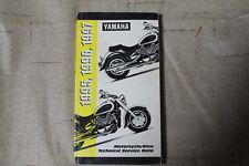 Yamaha Motorcycle and Riva Technical Service Data Manual 1995 1996 1997