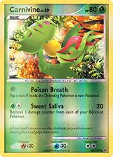 Carnivine Reverse Holo Common Pokemon Card Pt1 Platinum 68/127