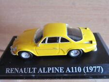 1/43 RENAULT ALPINE A110 AMARILLO IXO