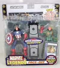 Marvel Legends Face-Off CAPTAIN AMERICA vs RED SKULL Marvel's ARCH-ENEMIES 2-PK