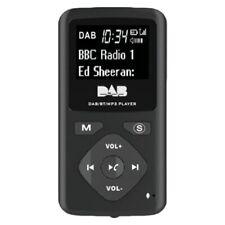 DAB/DAB Digital Radio Bluetooth 4.0 Personal Pocket FM Mini Portable Radio Ea An