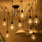 Hot Vintage Edison Industrial Loft Style Pendant Lamps Ceiling Chandelier Lights