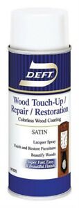 Deft DFT317S/54 Wood Touch Up & Repair Satin Lacquer Spray 12.25 oz. (Pack of 6)