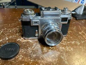 Carl Zeiss Ikon Contax IIIa Film Camera w/ Sonnar 50mm F/1.5 lens Very Nice