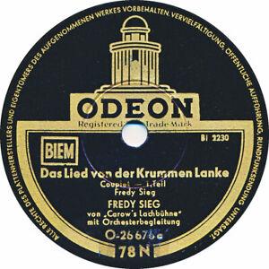 Fredy Sieg - Das Lied von der krummen Lanke - 1935
