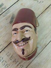 Vintage Chalkware Head Arabian