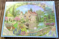 The Old Castle Garden 1000 pc Jigsaw Puzzle NEW SEALED Michael Pollard Flowers