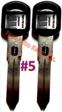 2 NEW GM Double Sided VATS Ignition Key #5 UNCUT V.A.T.S B82-P5 - MADE IN USA