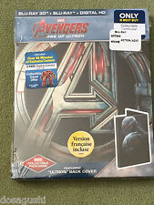 Free*Postage New Avengers Age Of Ultron Edition Blu Ray Steelbook OOP SOLD OUT