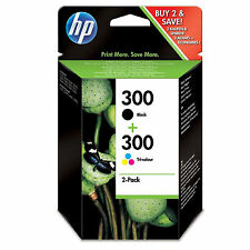Original Genuine HP 300 Black & Colour Combo Pack for Deskjet F4580 (CN637EE)