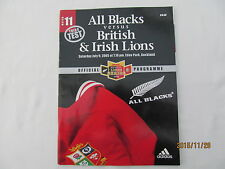 All Blacks v British & Irish Lions. 3rd Test 2005. Auckland.