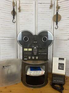 "[96] TECHNICS RS-1700 Tonbandgerät / Nice SET!!! / ""ungeprüft"" ""NEEDS SERVICE""!!"