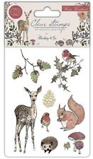 Motiv-stempel Clear stamp Winter Woodland Reh Igel Craft Consortium CCSTMP003