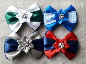 kids accessories hair clips bows bobbles girls school ribbons beautifful clip