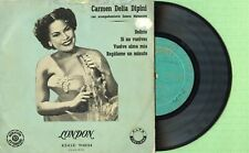 CARMEN DELIA DIPINI & S. MATANCERA / LONDON DGE 70.234 Press Spain 1955 EP VG