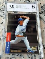 CLAYTON KERSHAW 2008 Upper Deck Rookie Card RC 1993 SP BGS BCCG 10 Dodgers HOT $