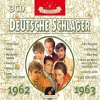 DEUTSCHE SCHLAGER 1962-1963 3 CD BOX NEU