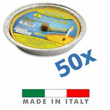 🔥 50 Padelle Romane Citronella 11cm in Alluminio Profumata Anti Zanzare