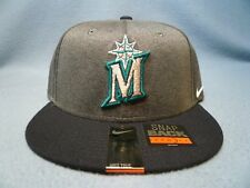 Nike Seattle Mariners Heather True BRAND NEW snapback hat cap dri fit MLB cddd7c217b93