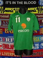 3/5 Ireland (Eire) adults L #11 Duff 2006 football shirt jersey trikot soccer