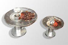 fausse paire de lampes désign 1970 en verre