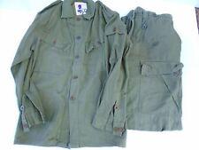 Original British Army Vietnam War 1968 Dated Battle Shirt like Us Jungle Jacket
